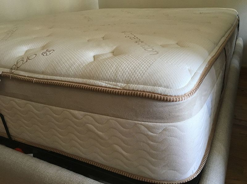 Loom and Leaf memory foam mattress construction