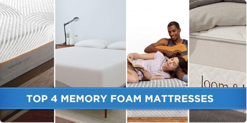 My Top 5 Reviewed Memory Foam Mattresses