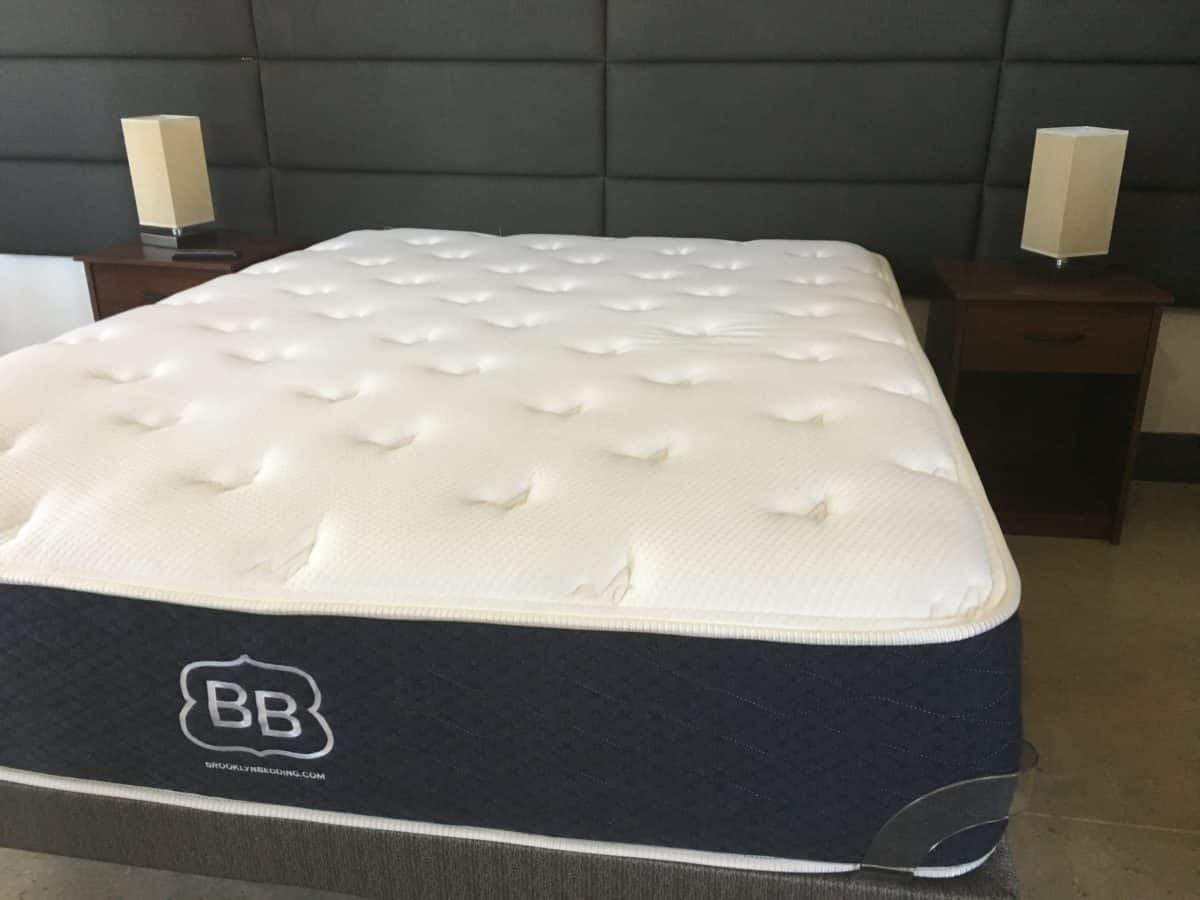 120 bed top layla mattress cooler with 120 bed legget c for Brooklyn bedding soft review