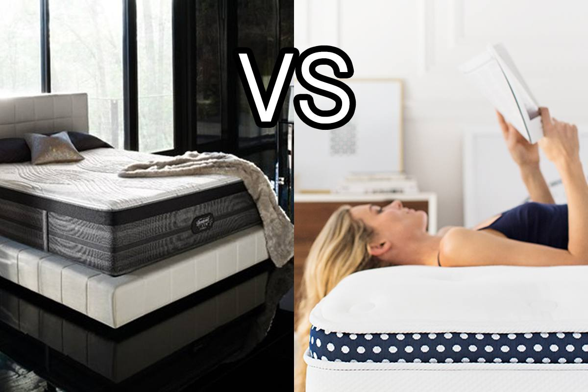 WinkBeds Vs Beautyrest Black