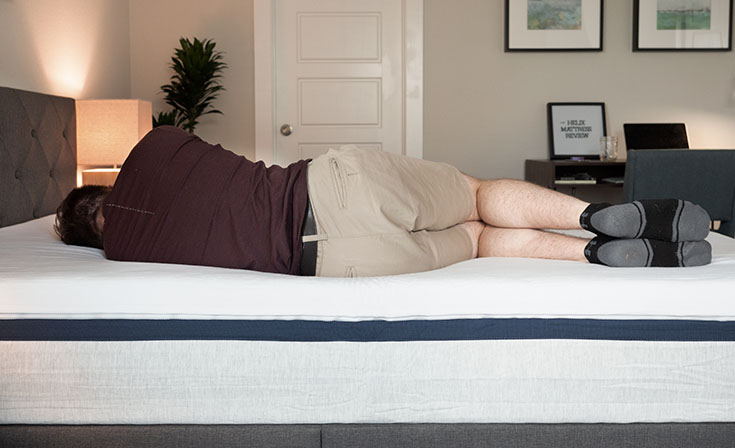 Helix Mattress for side sleeping