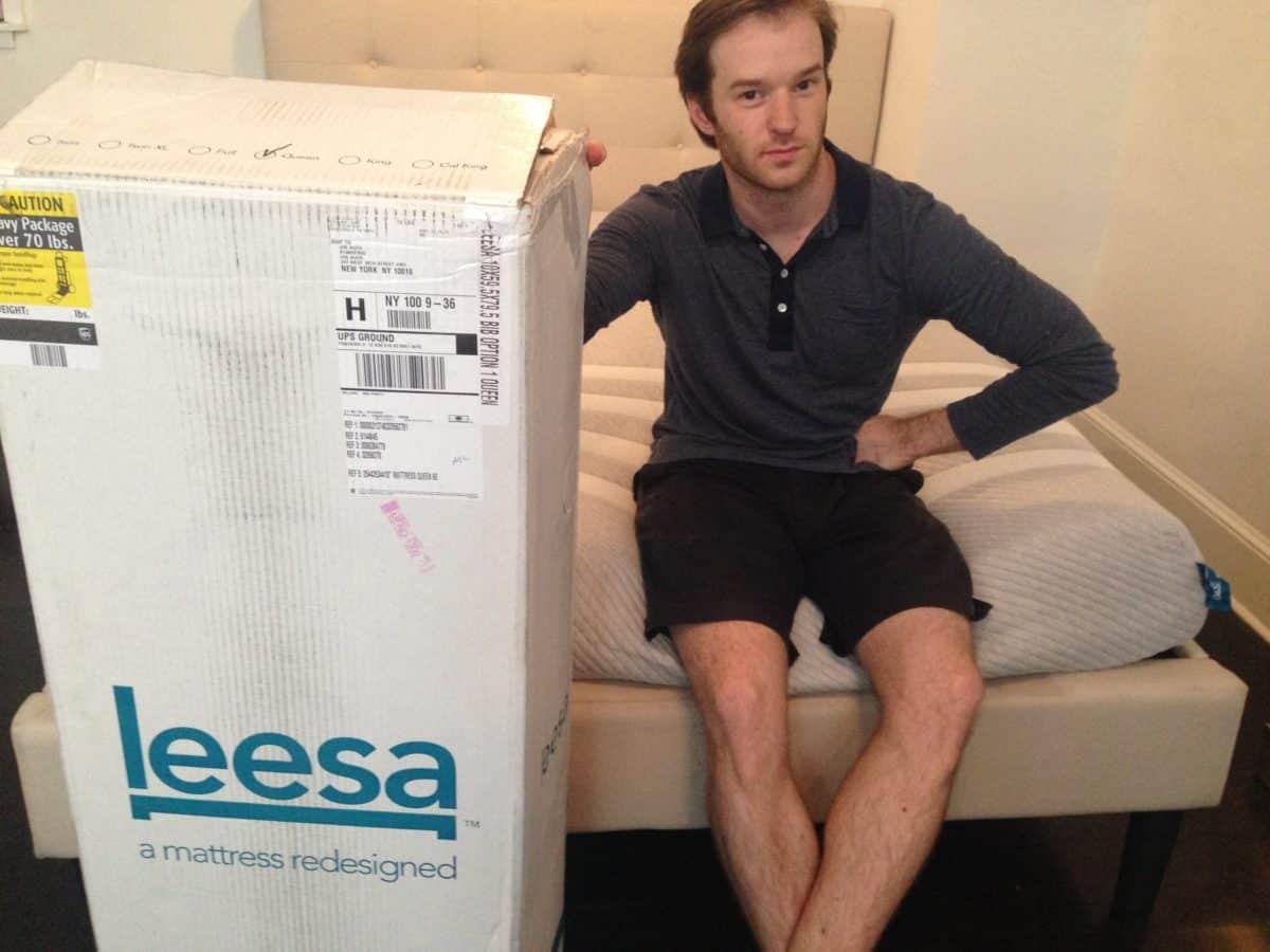 Leesa Mattress Unboxing