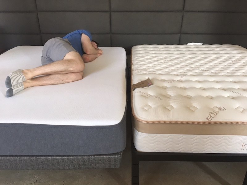 along with this difference casper provides free shipping while loom and leaf does not - Shipping A Mattress