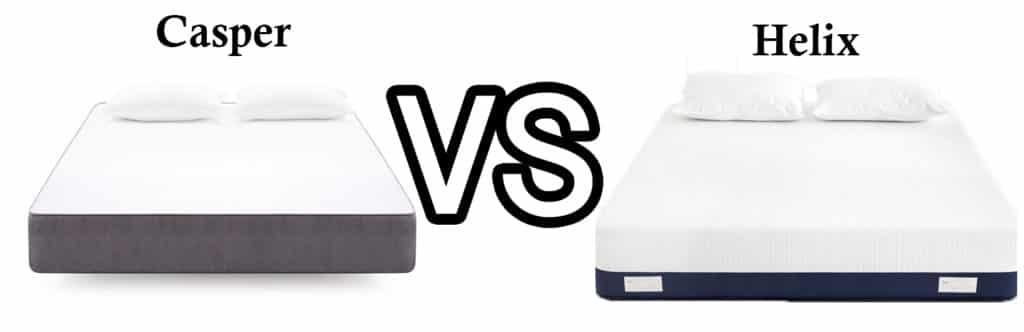 Casper vs Helix mattress