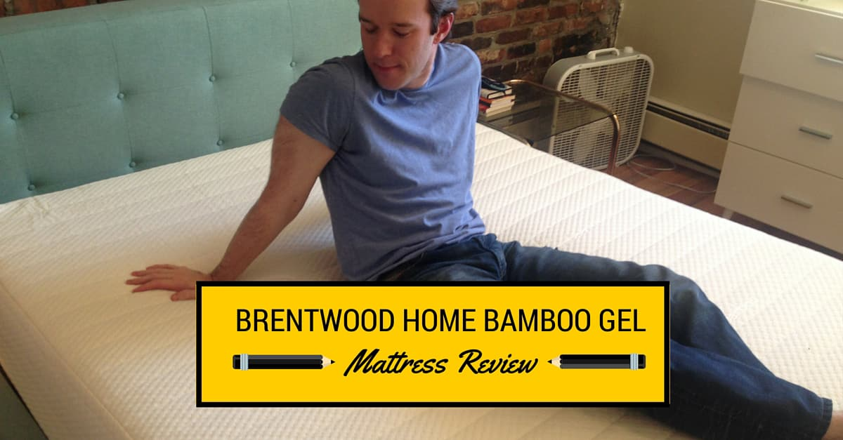 Brentwood Home Bamboo Gel Reviews