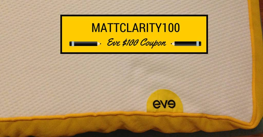 Eve Mattress Coupon Code