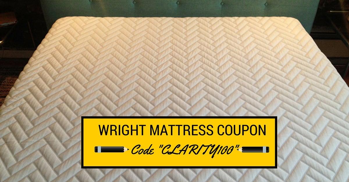Wright Mattress Coupon