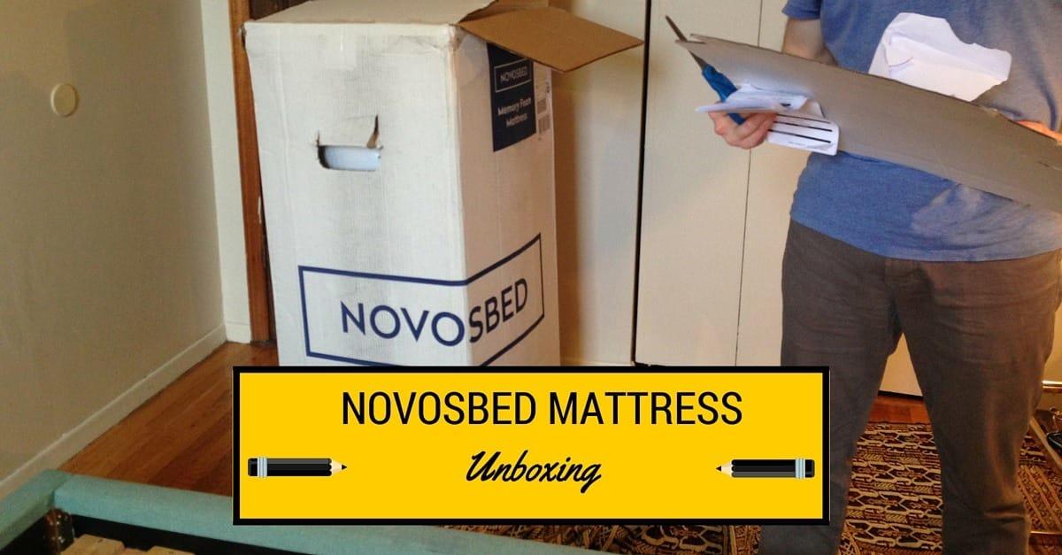 Novosbed Mattress Unboxing