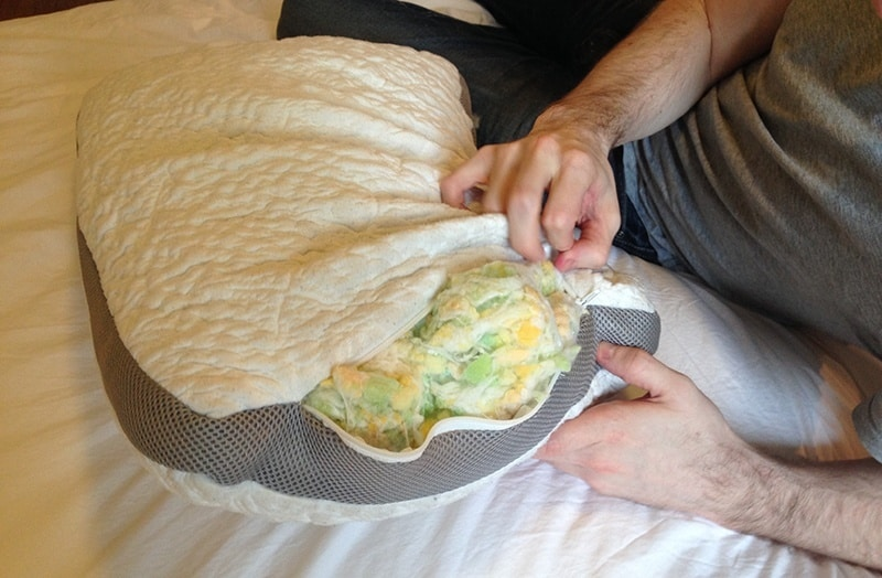 Easy Breather Natural Pillow Construction