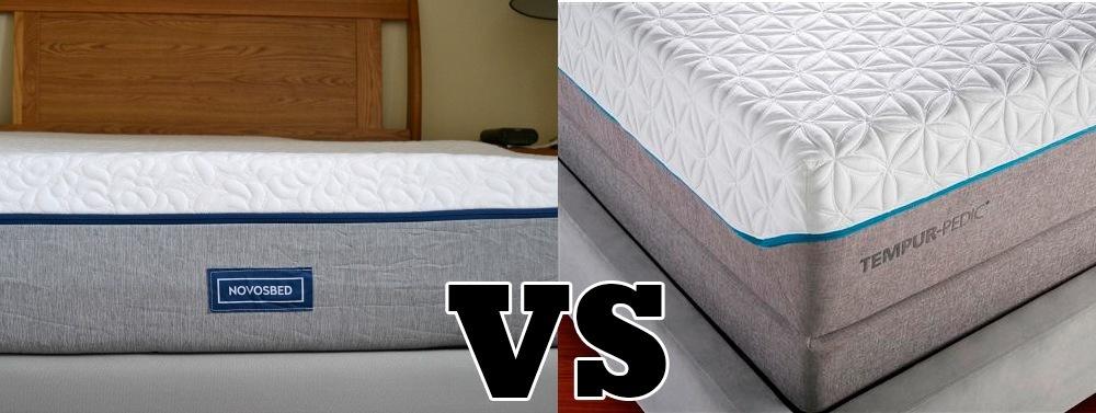 novosbed vs tempurpedic mattresses compared. Black Bedroom Furniture Sets. Home Design Ideas
