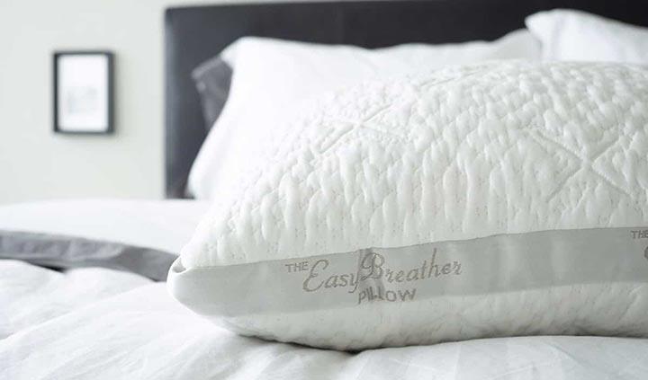Nest Easy Breather Pillow Review - tencel fiber cover