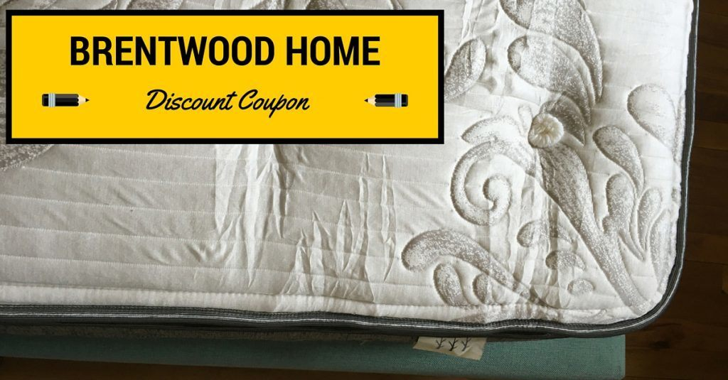 Brentwood Home Mattress Discount Coupon