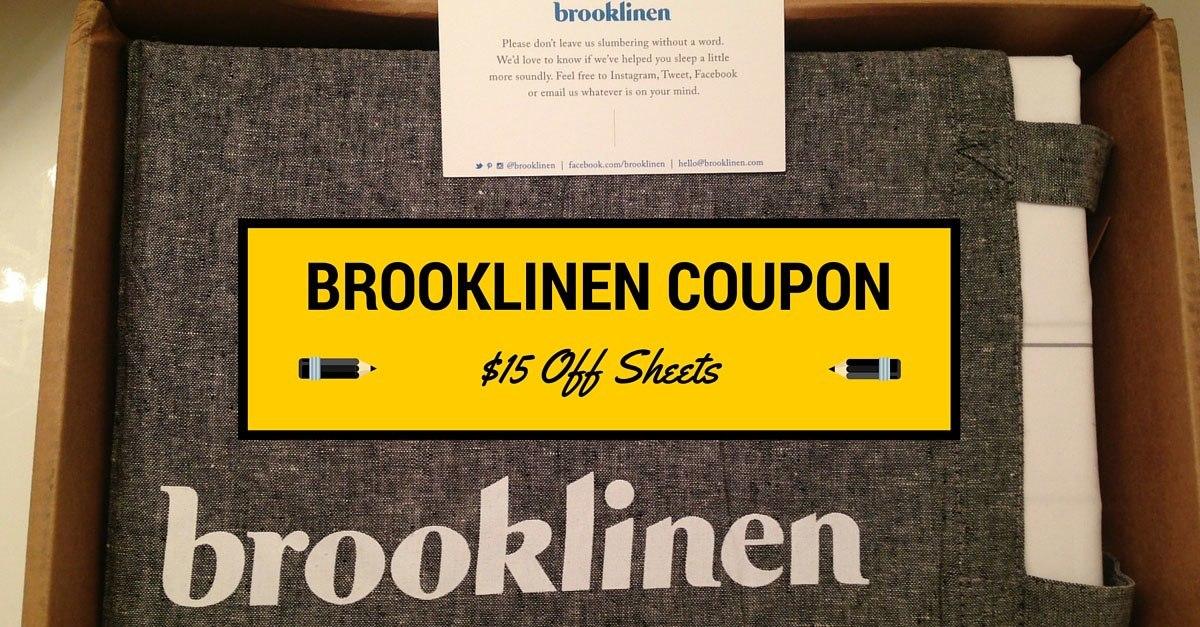Brooklinen Coupon Code