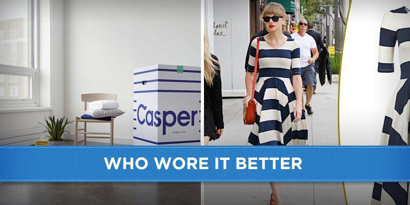 Casper mattress vs Taylor Swift