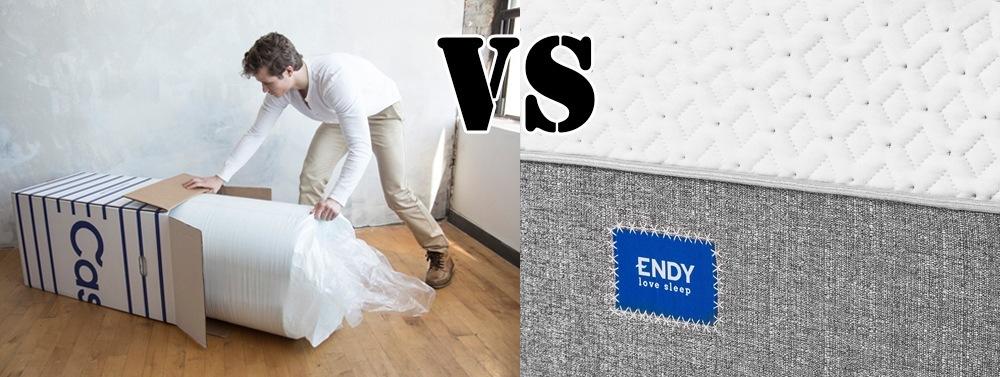 Endy mattress vs Casper