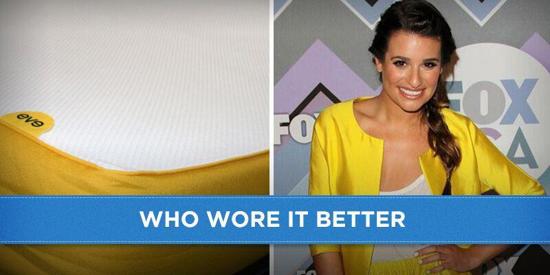 Eve Mattress vs Lea Michele