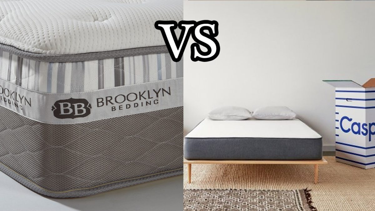 brooklyn bedding vs casper mattress With brooklyn bedding vs casper