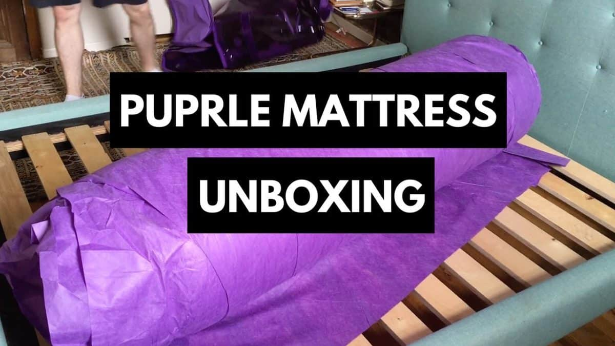 Purple Mattress Unboxing
