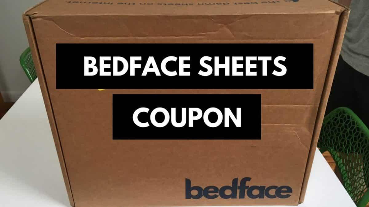 Bedface Discount Code