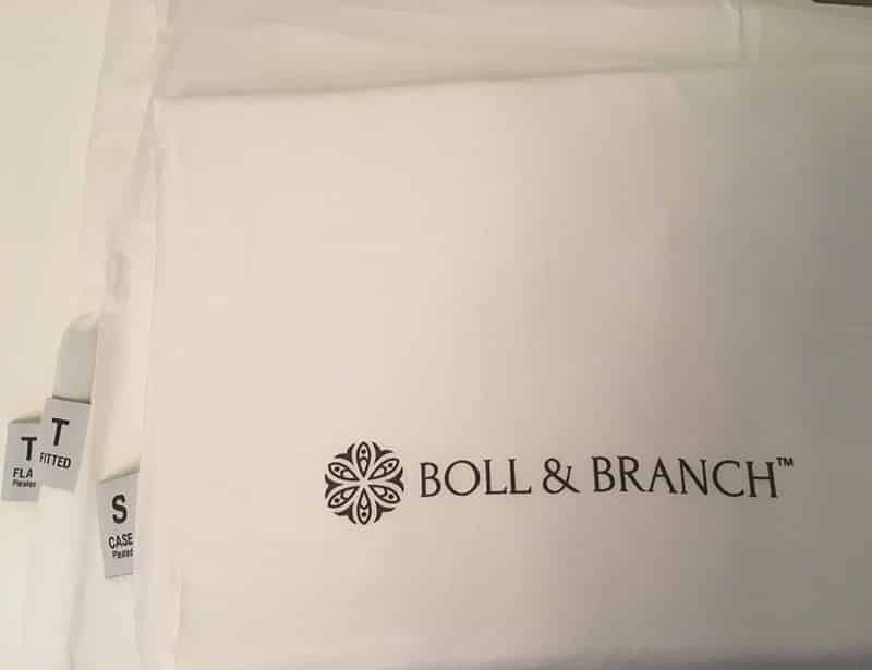 Boll & Branch Sheets Set Packaged