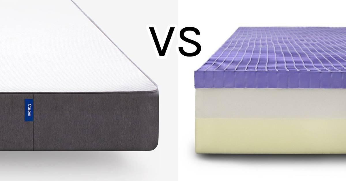 Casper Vs Purple Mattress