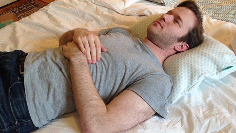 HIBR Pillow Back Sleeper