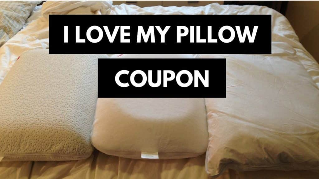I Love My Pillow Promo Code