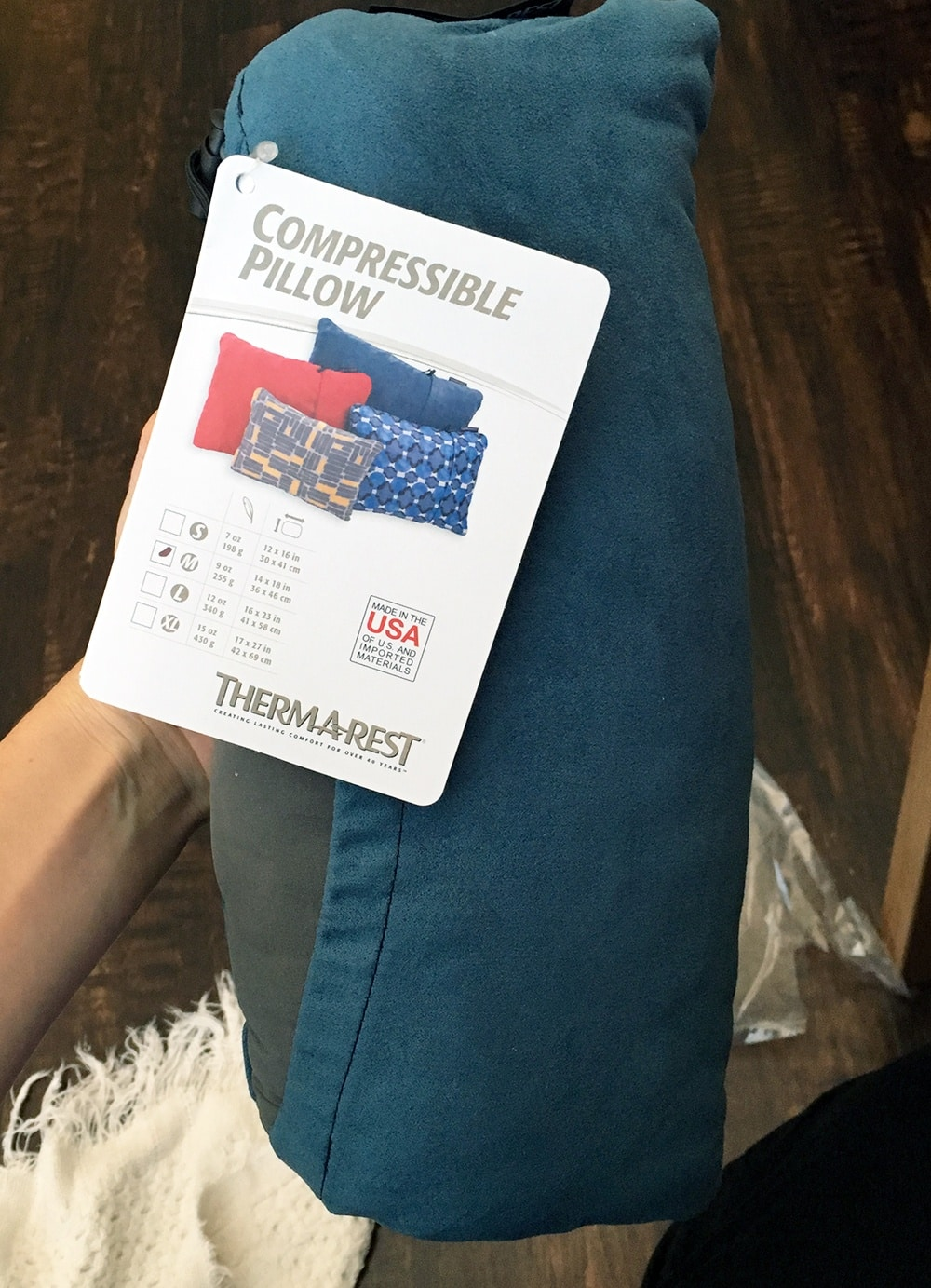 Therm A Rest Compressible Pillow Review