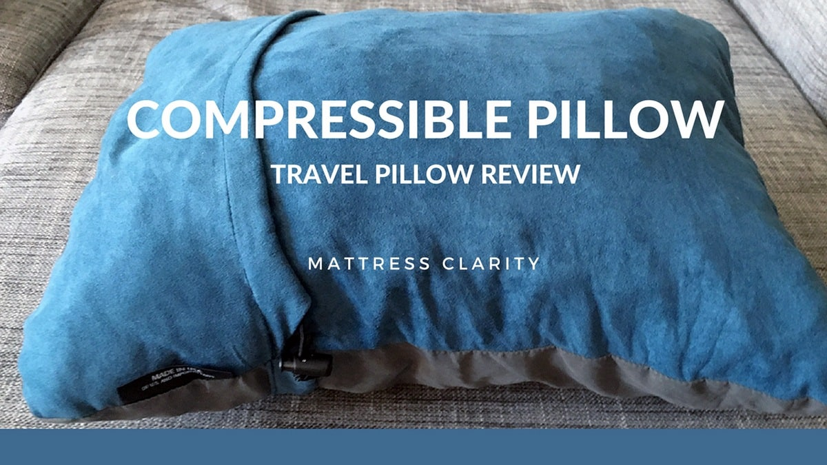 Compressible Pillow Travel Pillow Review