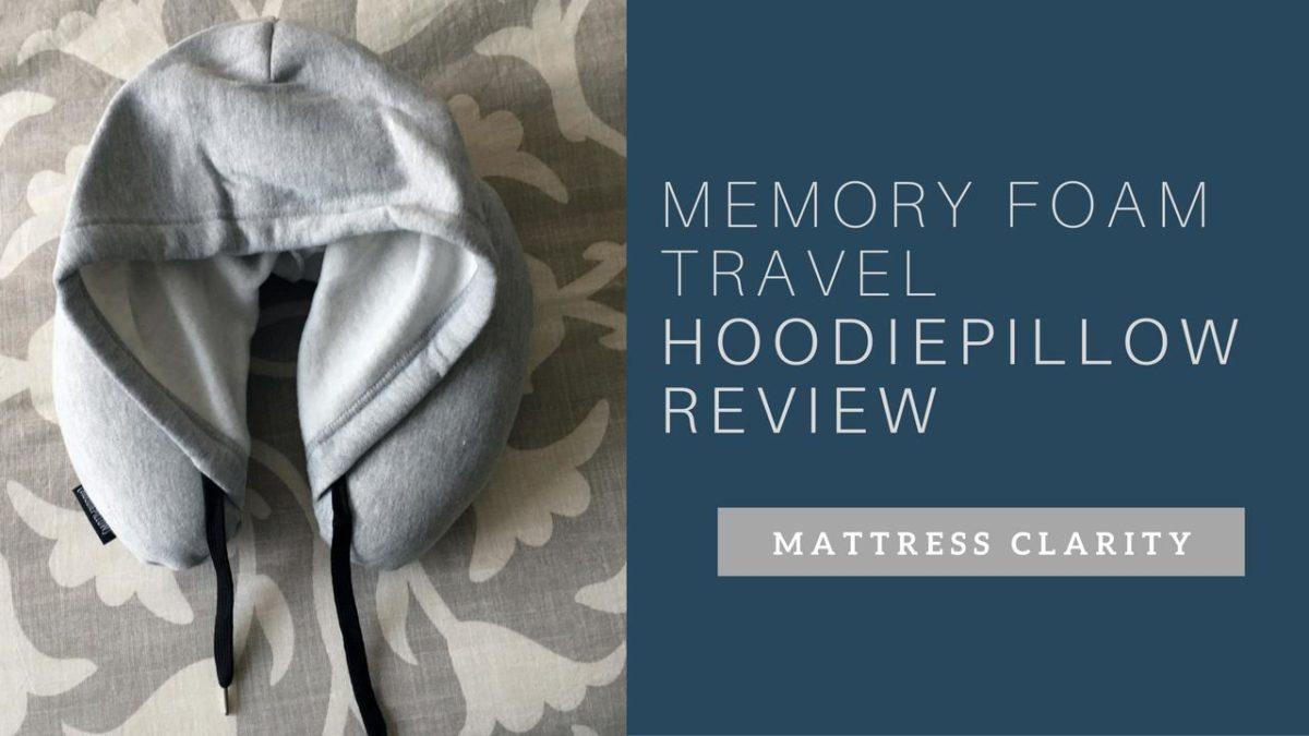 Memory Foam Travel HoodiePillow