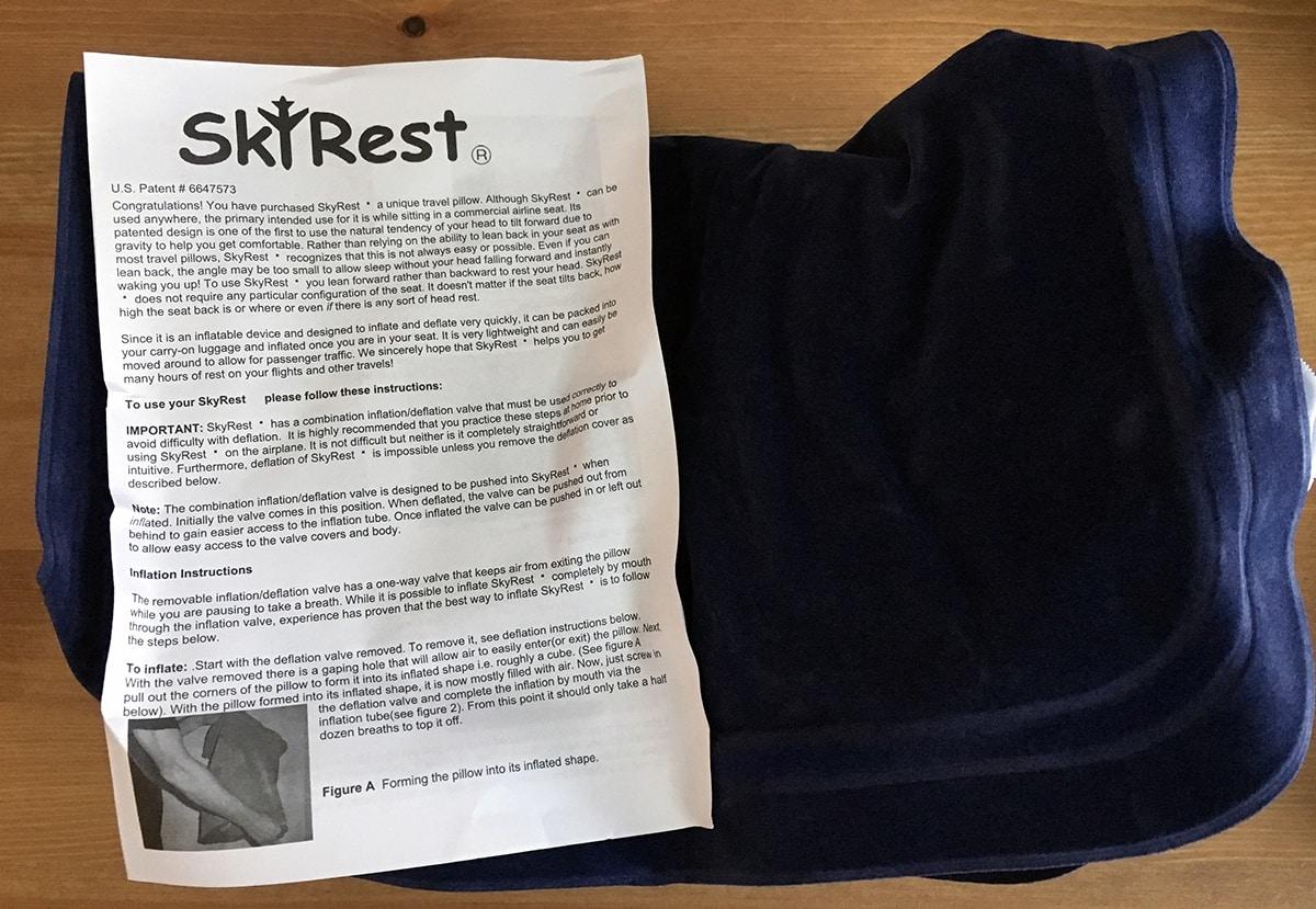 SkyRest Travel Pillow Review