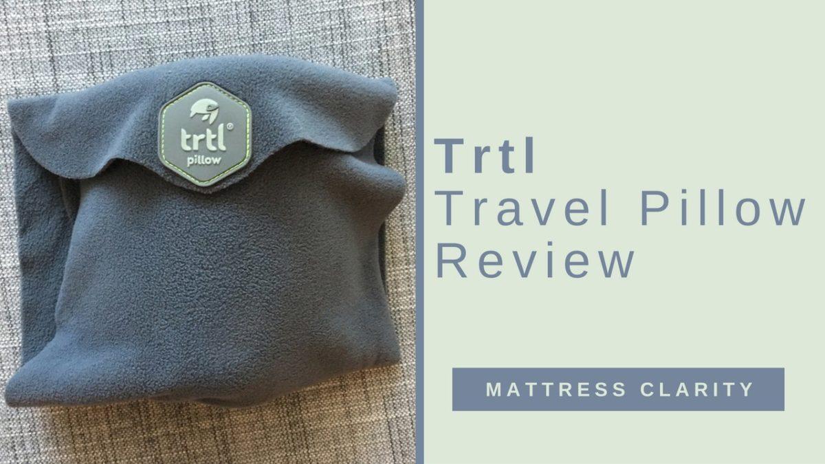 Beautyrest Mattress Reviews >> Trtl Travel Pillow Review