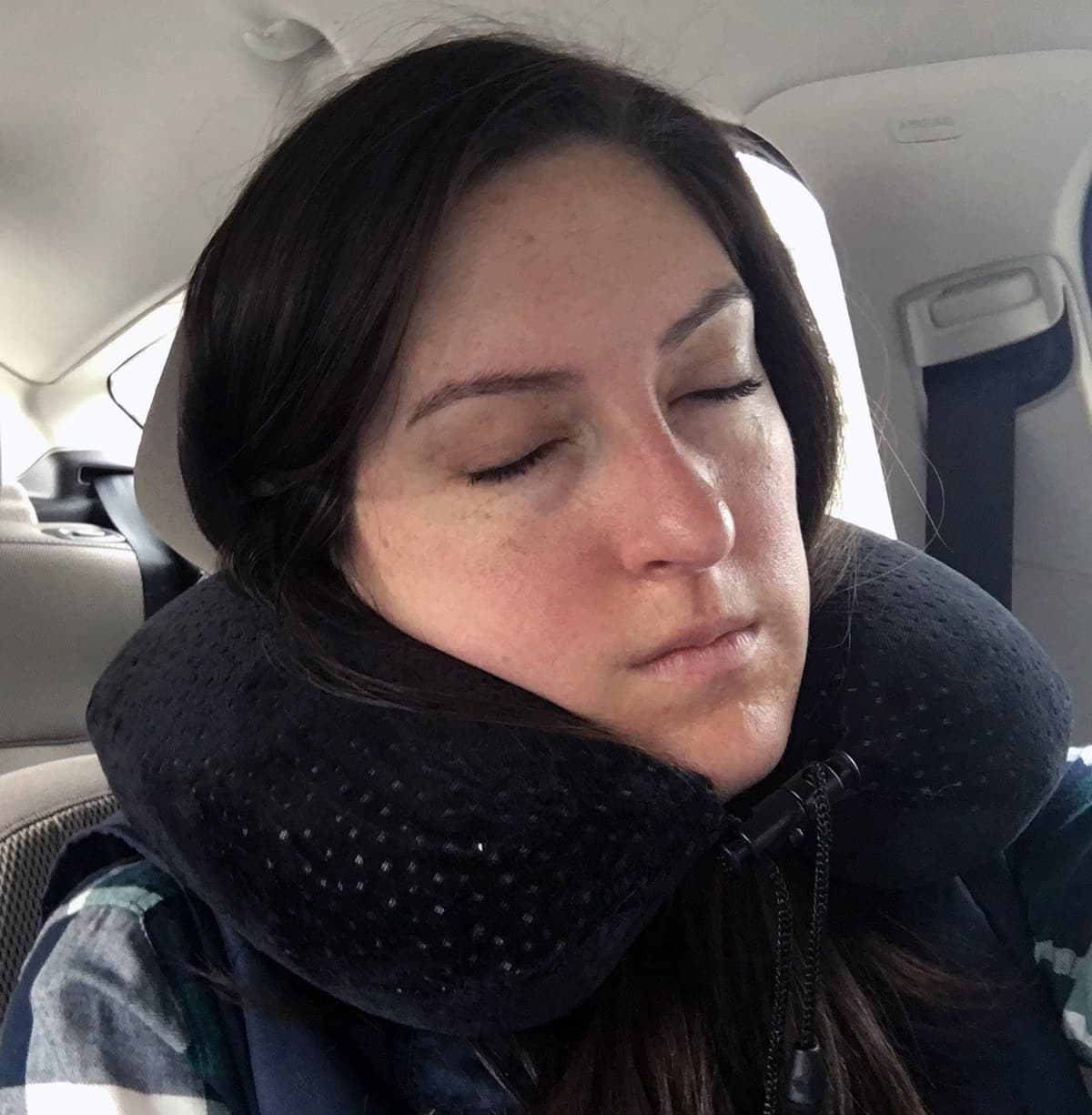 Aeris Memory Foam Travel Pillow Review