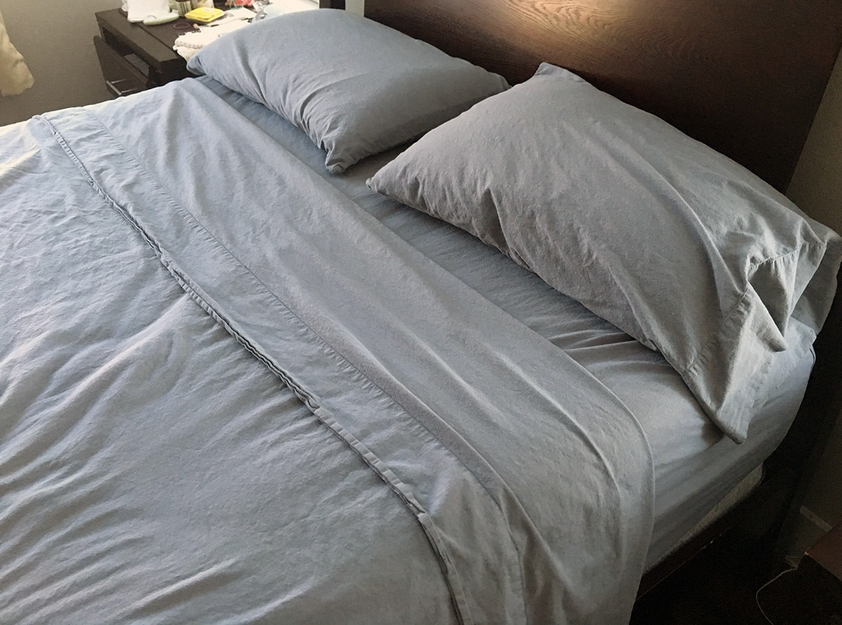 This is my review of the Sonoma Sheet Set by Brentwood Homes. These sheets are 100% organic and natural cotton and free from chemicals and other potentially hazardous materials. Brentwood Home focuses on eco-friendly products including mattresses and pillows and has one set of sheets. I reviewed the sheets in a Queen Set in Slate. They felt like linen, very soft and lightweight and pretty easy to care for. Fit my bed nicely and are supposed to get softer with each wash. They are pricey but for the quality I think they are a good value.