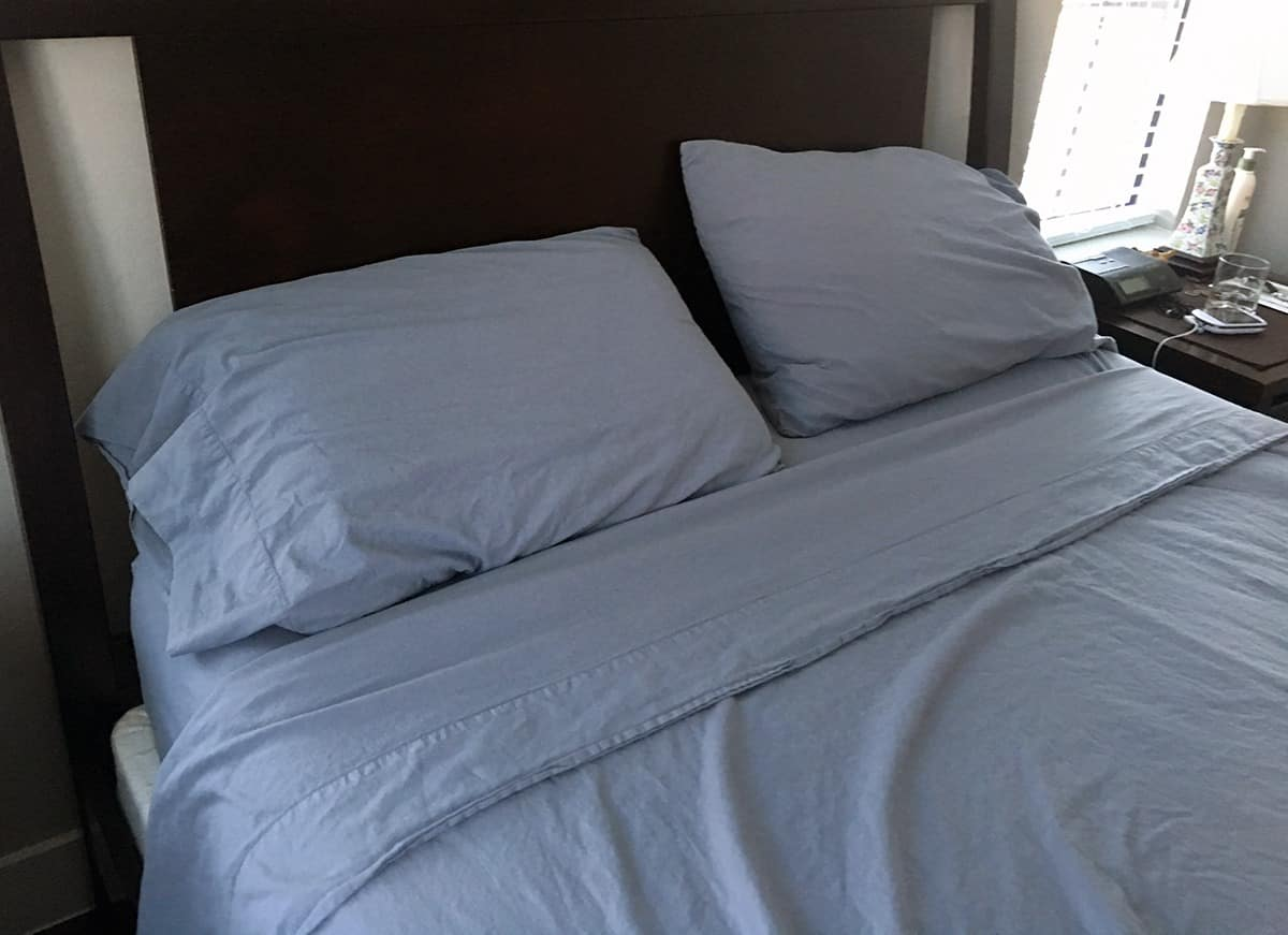 Brentwood Home Sonoma Sheet Set Review