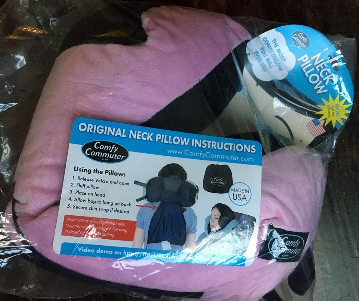 Comfy Commuter Original Travel Pillow