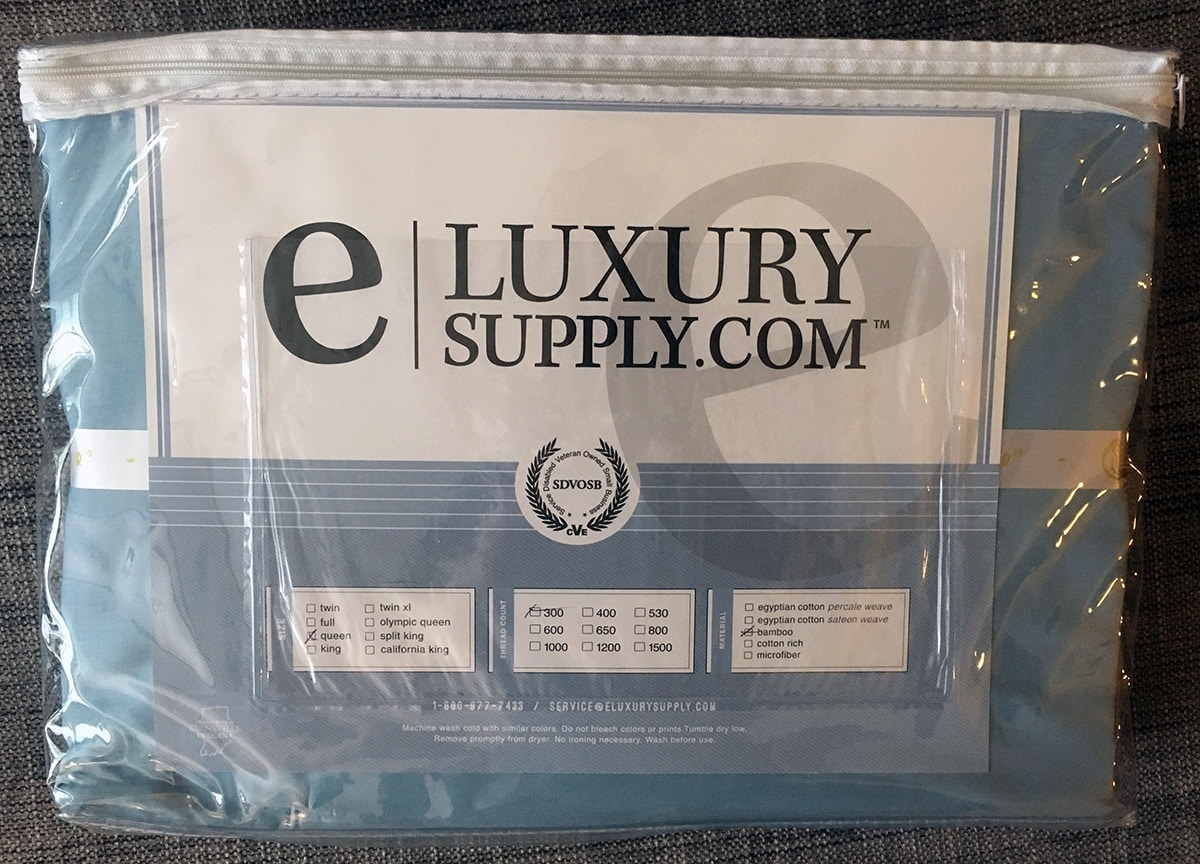 eLuxurySupply Bamboo Sheet Review