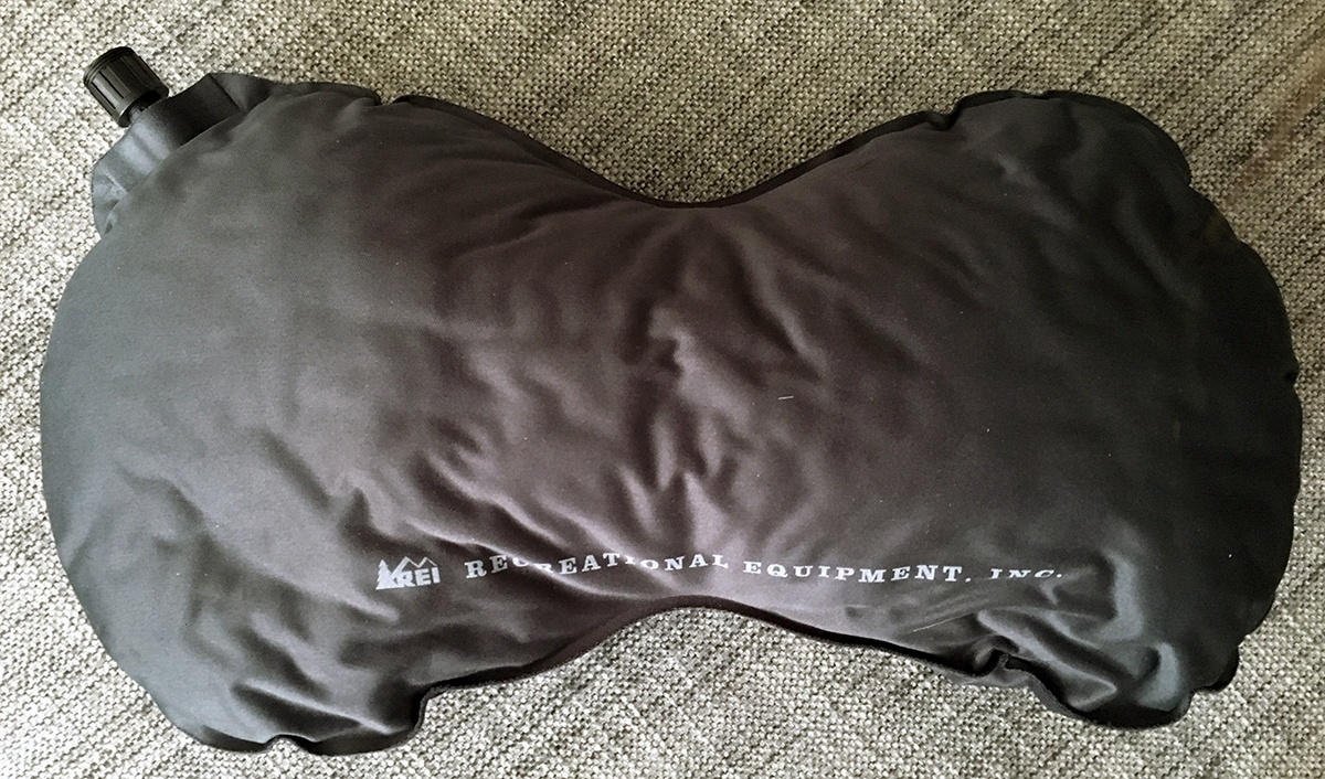 REI Self-Inflating Travel Pillow Review