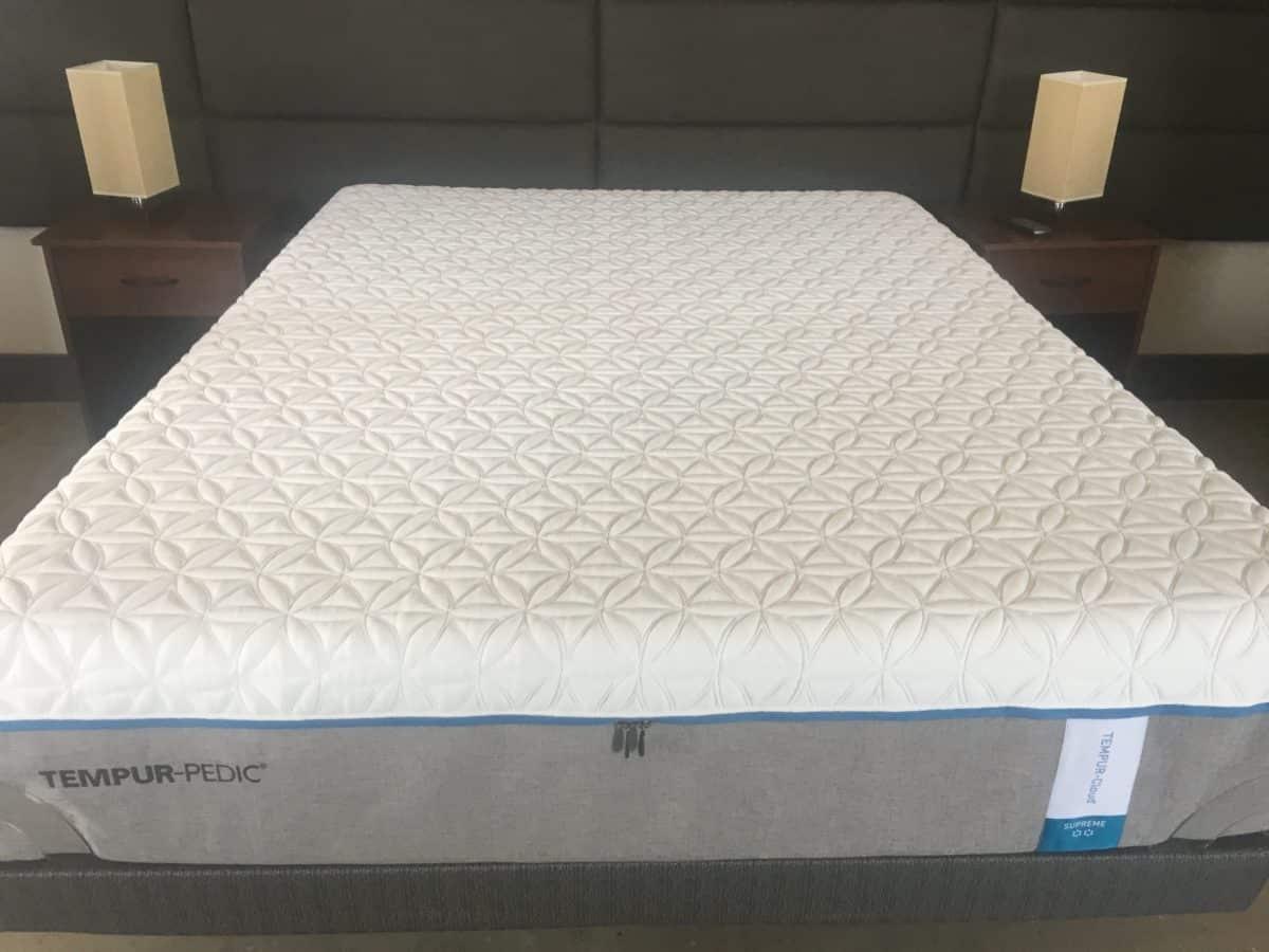 tempur pedic tempur cloud supreme review. Black Bedroom Furniture Sets. Home Design Ideas