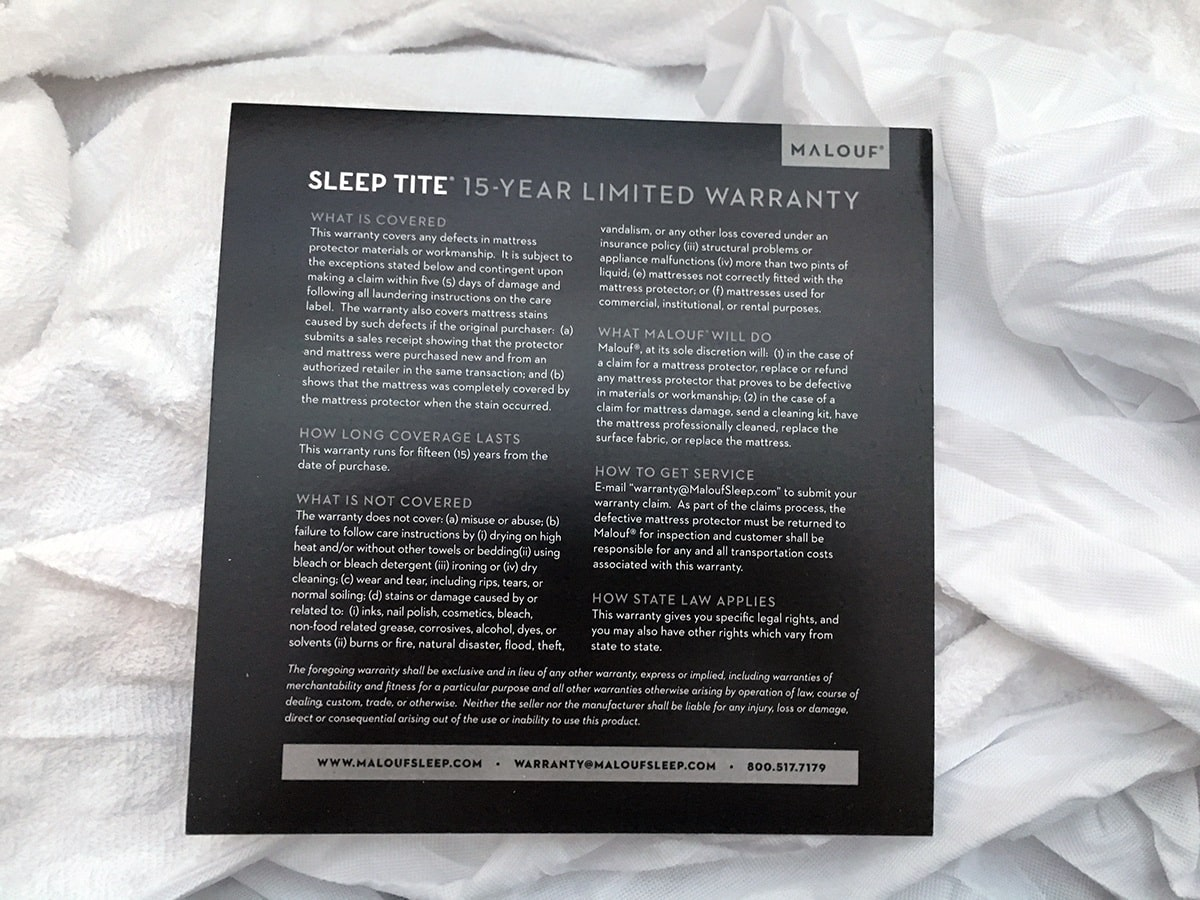 Sleep Tite Pr1me Mattress Protector Review