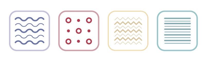 materials in a soft mattress