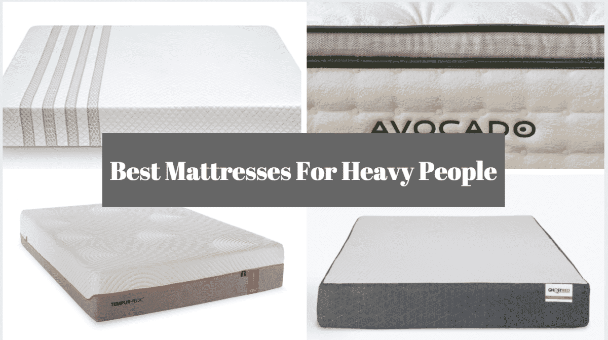 5 Best Mattresses For Heavy People