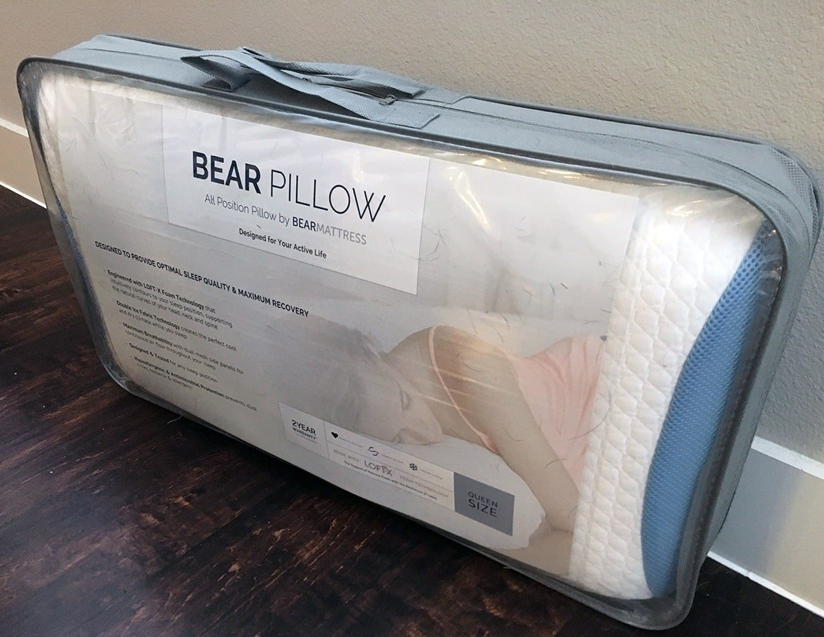 Bear Pillow Review