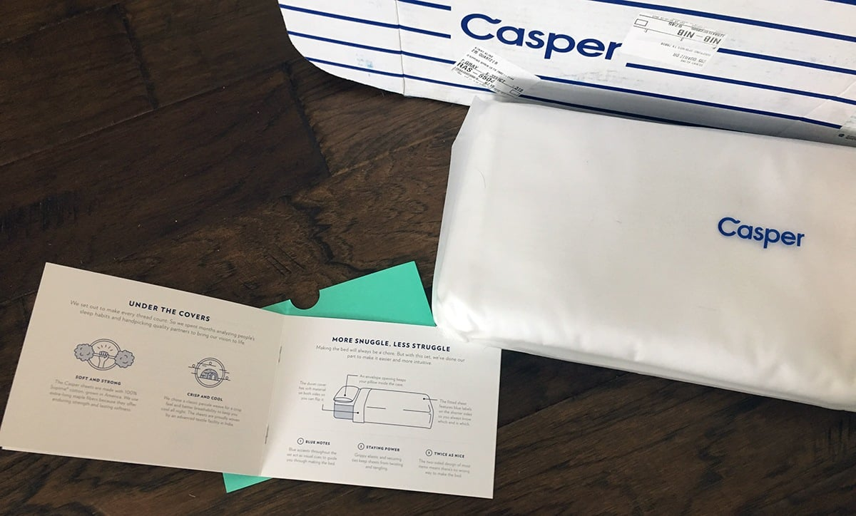 Casper Sheets Review
