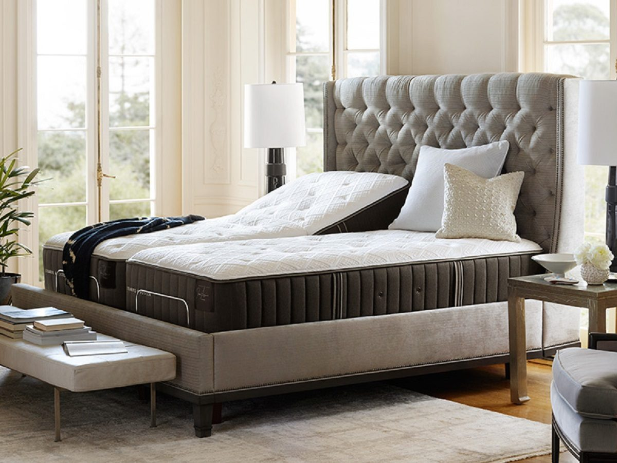 Lux Estate Collection Bed Stearnsandfoster