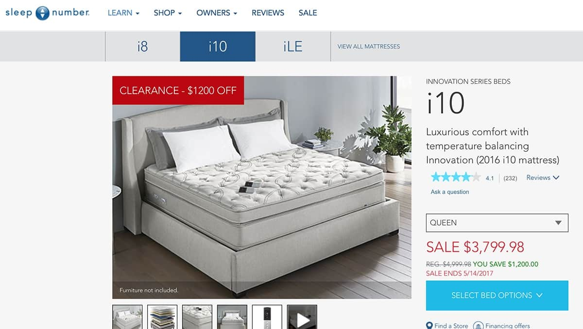 Sleep Number Beds - When Do They Go On Sale? - Mattress ...