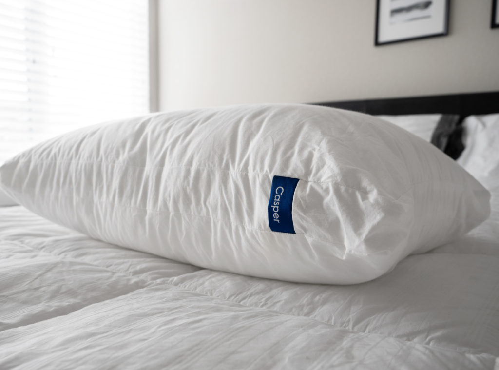 Casper Pillow Review - original casper pillow