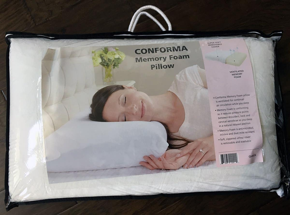 Classic Brands Conforma Memory Foam Pillow Review