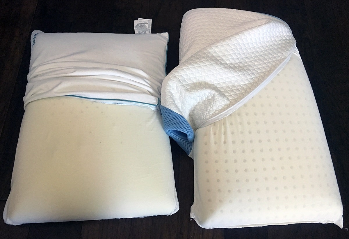 Pillow Reviews: Iso-Cool Traditional vs. Bear