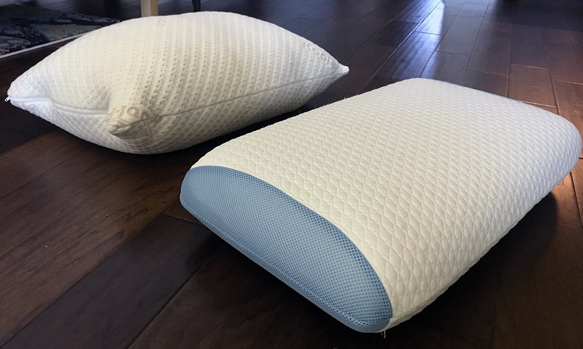Pillow Reviews: Snuggle-Pedic vs. Bear